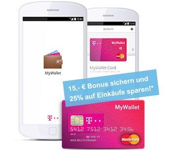 Prepaid Mastercard + NFC Chip mit 15.-€ Guthaben.