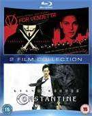 V wie Vendetta + Constantine 2-Movie Collection (Blu-Ray) für 9,59€ @WOW HD