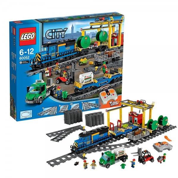 Lego City 60052 - Güterzug für € 134,43 & Lego City 60051 - Hochgeschwindigkeitszug für € 100,97