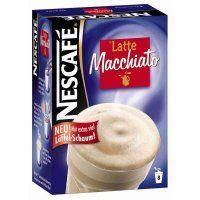Nescafe Latte Macchiato 8 x 18 gr bei Schlecker