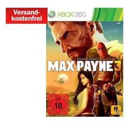 Media Markt - Game Deals - z.B. Max Payne 3 (Xbox 360) für 5€ inkl. Versand