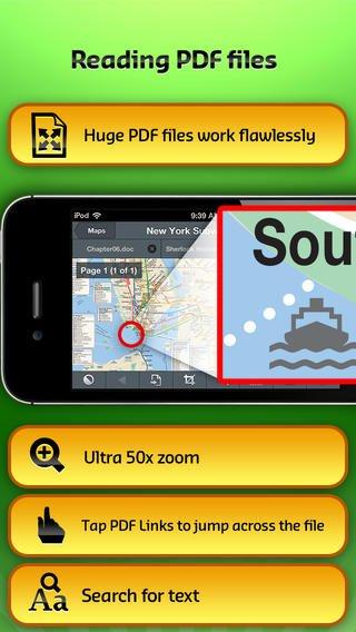 (iOS) GoodReader 4 für 2,69€, statt 5,99€- Dokumentverwaltung