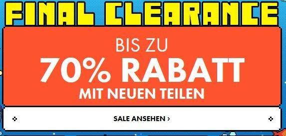 FINAL SALE bei ASOS: bis zu 70% Rabatt!!!