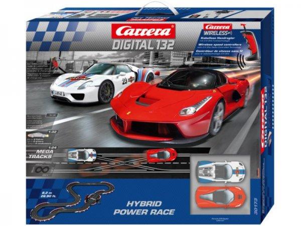 Vorbestellen: CARRERA Digital 132 Hybrid Power Race (30173) für 248€ inkl. Versand [spielzeug-schuette.de]