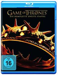 Game of Thrones - Staffel 2 Blu-Ray für 24,99 Euro