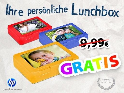 Bedruckte Lunchbox für 4,95€ mit individuellem Bild