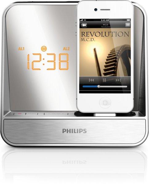 Philips AJ5305D Radiowecker für Iphone 5 + 5€ Tankgutschein