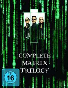 [AMAZON BLITZANGEBOT] [BLURAY] Matrix - The Complete Trilogy für 16,97 €