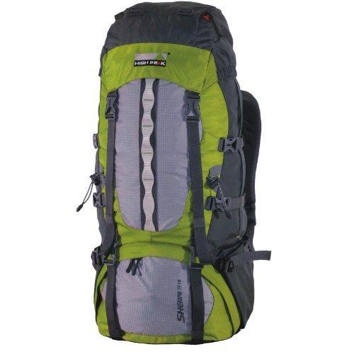 High Peak Rucksack Sherpa, dunkelgrau/hellgrau/grün für 63,95 Euro @Amazon.de