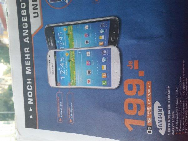 Samsung Galaxy S4 mini Lokal Saarbrücken