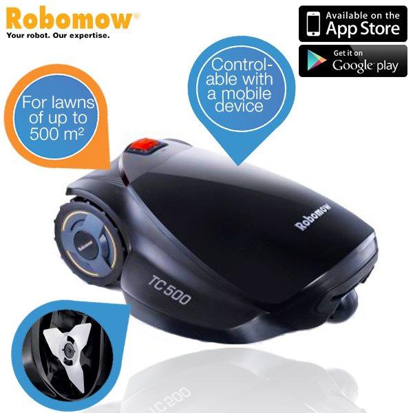 (IBood) Rasenmäher-Roboter: Robomow TC500 für 808,90 (idealo 1219.-)