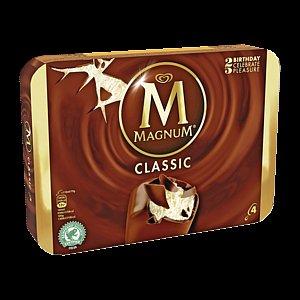 Magnum (4er Packung) verschiedene Sorten - REWE bundesweit für 1,77€