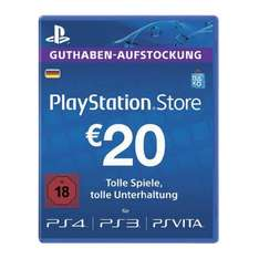 Sony PlayStation Network - Live Cards 60 EUR für 52,50 Euro