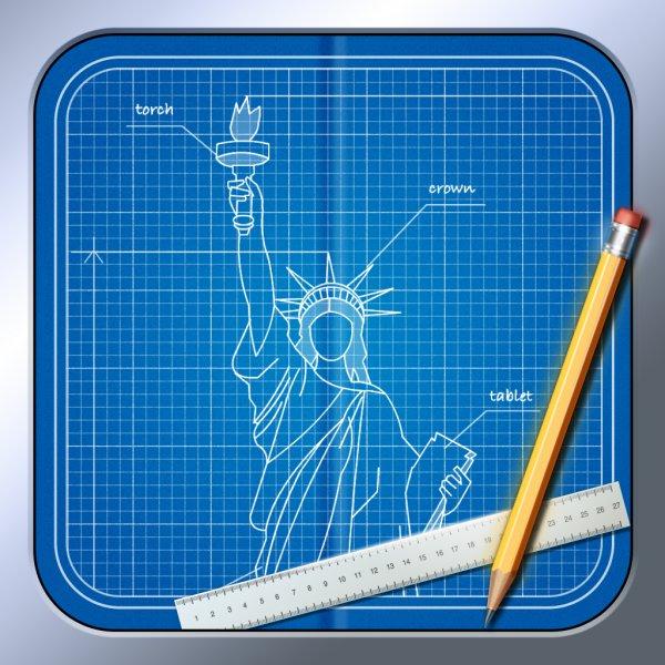 [iOS] Blueprint 3D kostenlos statt 89 cent