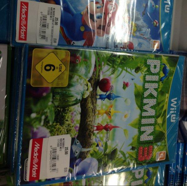 (Lokal) Pikmin 3, Mario und Sonic WiiU Mediamarkt Wiesbaden Äppelallee