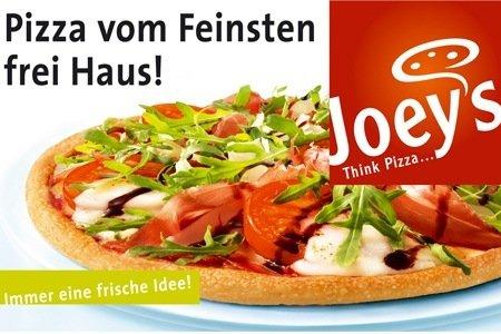 Groupon Hannover: Joey's Pizza-Gutschein im Wert von 20 Euro für nur 10 Euro