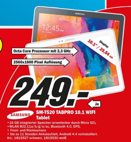 Samsung Galaxy Tab Pro 10.1 16GB WiFi für 249€,Samsung UE55H6410 für 799€ Lokal [Mediamarkt Weiterstadt]