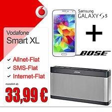 Vodafone Smart XL + Galaxy S5 + Bose Soundlink III [junge Leute]