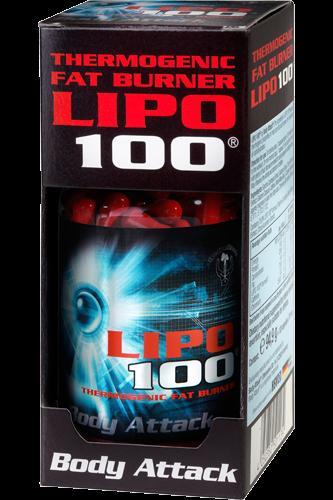 Body Attack LIPO 100 Fatburner   240 Kapseln   54,50€ frei Haus   Yatego