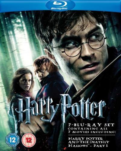 Harry Potter 1 - 7.1 Blu-Ray @ASDA UK für ca. 30,80€ inkl. Versand