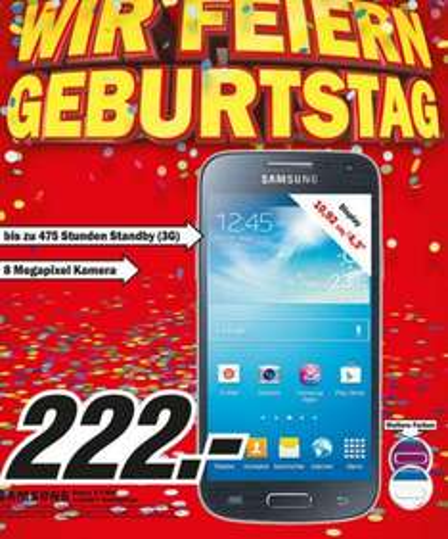 [MM Nürtingen&Kirchheim Teck] Samsung Galaxy S4 Mini