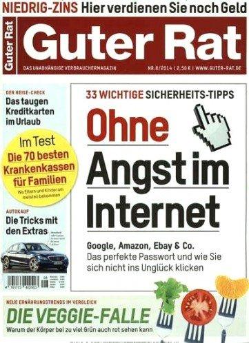 """12x Zeitschrift """"Guter Rat"""" für 3€ effektiv bei Bankeinzug"""