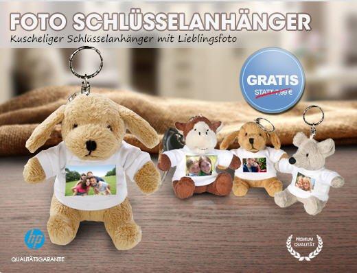 Plüsch-Schlüsselanhänger mit eigenen Foto für 4,95€ inkl.Versand