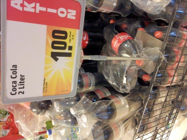 [REWE offline] Coca-Cola, Sprite, Fanta etc. 2l
