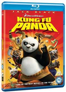 Blu-ray - Kung Fu Panda für €3,73 [@Wowhd.co.uk]