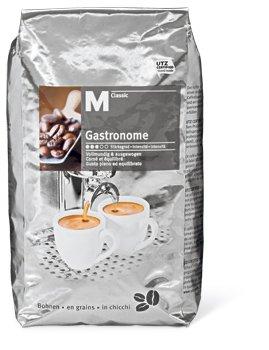 [Migros Shop] : 8 kg M-Classic Gastronome Kaffeebohnen für 63,35.- € (7,92.-€/kg)