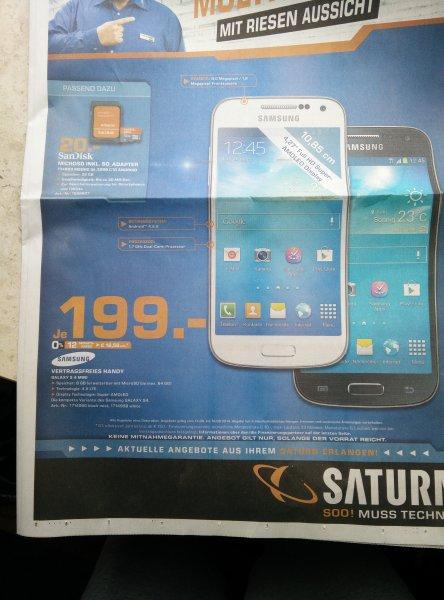 Galaxy S4 Mini -  Saturn Erlangen