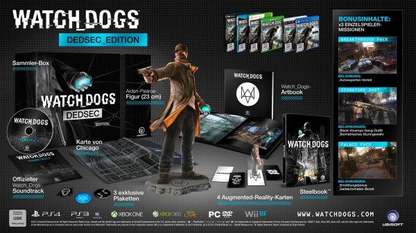 Watch Dogs DEDSEC_Edition ab 44,97€ (PC) oder 59,97€ (NextGen) @Amazon