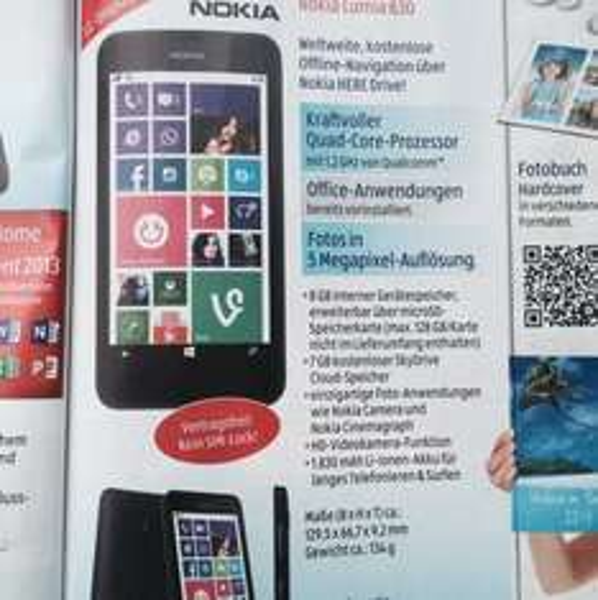 [Lokal] Nokia Lumia 630 bei Aldi Süd ab 28.8. für 109,-€