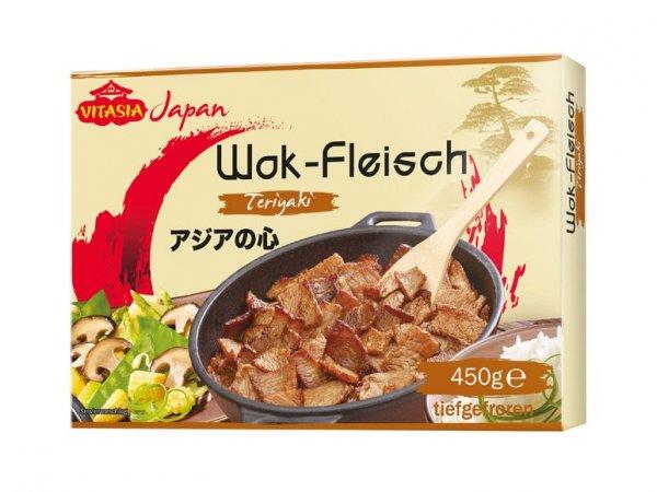 VITASIA Wok-Fleisch bei LIDL im Abverkauf 50% günstiger (€ 1,29 für 450g-Packung TK-Ware MHD 12/2014) ... entspricht € 2,88 pro Kilo feinstes mariniertes Schweinefleisch
