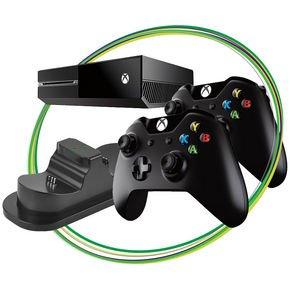 Xbox One (ohne Kinect) mit 2 Controllern und Ladestation für 389,00 bei 0% Finanzierung bei Notebooksbilliger.de - 12% Ersparnis