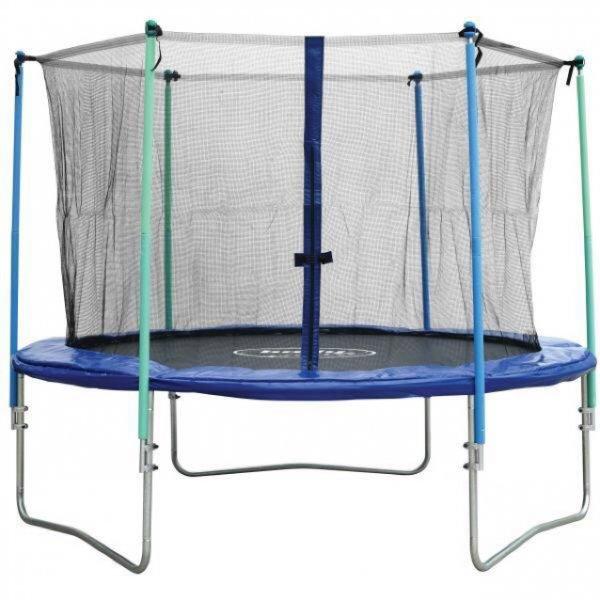 L.A. Sports Groß-Trampolin 305 cm, Höhe: 90 cm, inkl. Netz und Federabdeckung