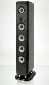 Boston Acoustics M 350 Standlautsprecher in schwarz
