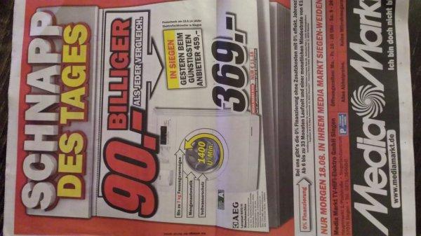[Siegen] Media Markt Waschmaschine AEG Lavamat 6470 FI nur Lokal 369€