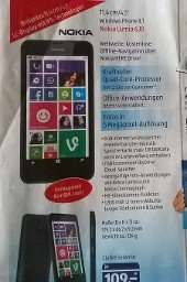 Nokia Lumia 630 für 109,-€ bei Aldi Süd ab 28.8.