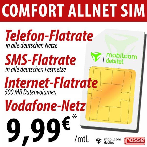 Allnet-Flat-Aktion D-Netz (Für Vieltelefonierer)