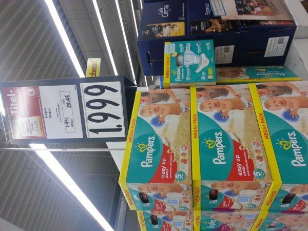 Pampers Windeln zum Unschlagbarem Preis im Kaufland [Bad Friedrichshall]