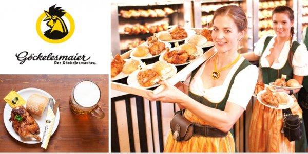 [Stuttgart Volksfest] Tischreservierung für 10 Personen inkl. 10 Maß und 10 halbe Göckele 113€ statt 176€ im Festzelt Göckelesmaier !