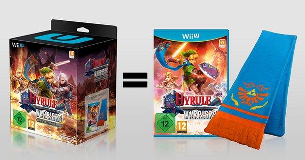 Wii U Hyrule Warriors (Limited Edition) mit Schal für 50,99 EUR inkl. VSK