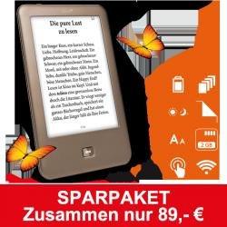 Halbjahres Abo Zeitschrift Bunte + Tolino Shine ebook Reader