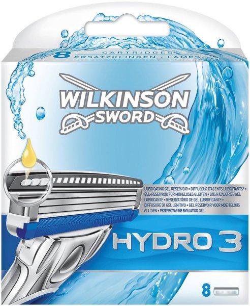 Wilkinson Sword Hydro 3 Klingen, 8 Stück (Amazon Angebot)