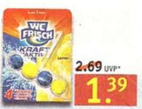 [Rossmann] WC Frisch Kraft-Aktiv 1,39€