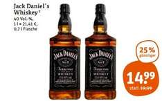 [TEGUT] Jack Daniels Old No.7 Tennessee Whiskey/Whisky 0,7l €14,99