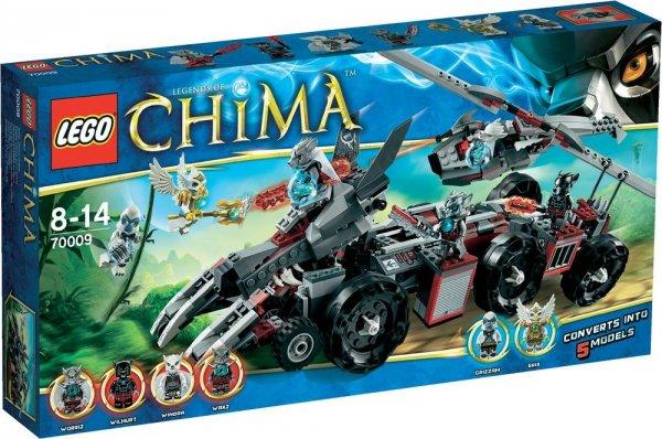 Lego™ - Chima: Worriz' Großer Wolfstruck (70009) ab €33,53 [@Karstadt.de]