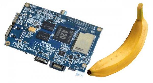 Allnet Banana Pi 1 GB ohne Betriebssystem für 42,50 nur mit SÜ ohne Versandkosten