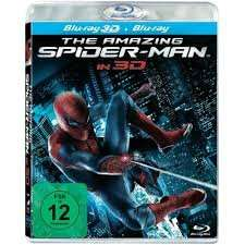 The Amazing Spider-Man 3D (2012) (Real 3D & 2D – 2 Discs) für 12,99 € inkl. Versand